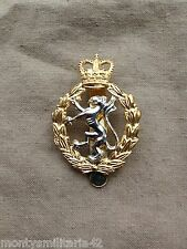 Original Issue British Womans Royal Army Corps (WRAC) Cap Badge - Maker Marked