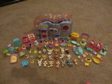 Littlest Pet Shop - LITTLE LOVIN PLAYHOUSE - Playset, 36 Pets & Accessories LPS