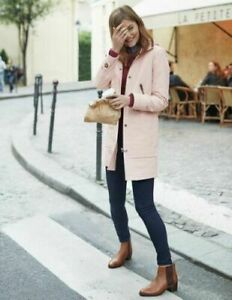 Boden Ladies Moleskin Duffle Coat PEARL PINK BRAND NEW WE567 RRP £130