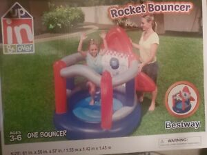 Up In And Over Bestway Rocket Bouncer