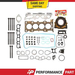 Full Gasket Set Head Bolts for 06-09 Mazda 3 5 6 MX-5 2.0L 2.3L DOHC LDF MZR