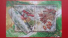 2011 Malaysia Miniature Sheet - Spices