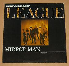 "HUMAN LEAGUE 12"" MIRROR MAN 3 TRACK EP EXCL 1982 UK PRESSING VS522-12"