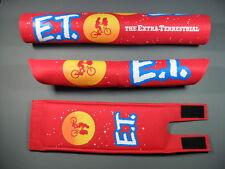 KUWAHARA E.T. PADSET FOR KE-01 KZ-1 KYZ KZ 2.5 Laserlite BMX Old School red pads