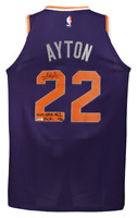 "DEANDRE AYTON Signed & Insc. ""2018 NBA #1 Pick"" Authentic Jersey STEINER LE 22"