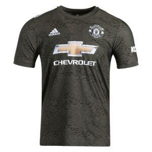 Adidas 2020-21 Manchester United Away Soccer Jersey EE2378 Sz M NWT Ronaldo $90