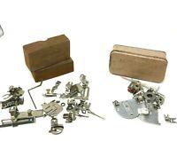 Greist Vintage Rotary Sewing Machine Parts Attachments Ruffler Binder Hemmer