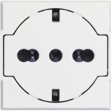 BTICINO 10 PEZZI AXOLUTE PRESA FLAT UNIVERSALE COLORE BIANCO 16A HD4140/16F