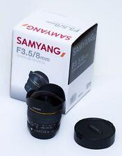 Samyang 8mm f/3.5 UMC Fish-eye CS for Pentax K