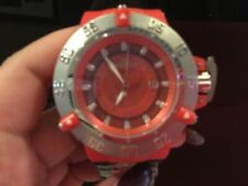 Invicta Subaqua Noma III 50 MM, Red Case, Stainless Steal watch