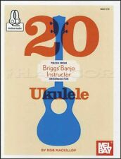 20 Pieces from Briggs' Banjo Instructor for Ukulele TAB Music Book with Audio