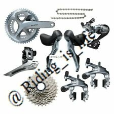 new Shimano 105 R7000 2x11 Road Bike Groupset 50-34/53-39/170MM/172.5 Silver