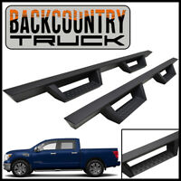 BackCountryTruck Drop Nerf Step Bars fit 2016-2021 Nissan Titan / XD Crew Cab