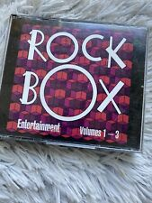 Rock Box Entertainment Weekly Volumes 1-3 CD Warner Special Products 1994