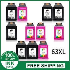 63XL Printer Ink Cartridges for HP Deskjet 1111 1112 2130 2132 3630 3632 5258
