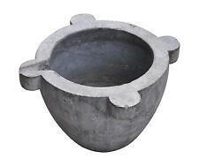 Important mortier en marbre gris ancien
