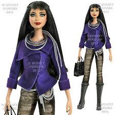 Objet de collection barbie stardoll fallen angel-style fashion doll 2 tenue Inc..
