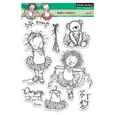 PENNY BLACK RUBBER STAMPS CLEAR TUTU SWEET BALLET NEW STAMP SET 2013