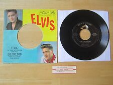 Elvis 45rpm record & Picture Sleeve, Stuck On You/Fame & Fortune, 1960 RCA