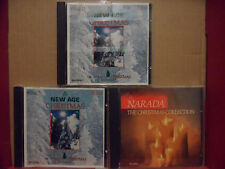 Lot of 3 NEW AGE Christmas CD's