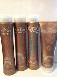 BRAZILIAN BLOWOUT ORIGINAL SMOOTHING SOLUTION KIT - SHAMPOO, CONDITONER & BALM