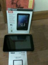 "7""RCA android 4.1 jelly bean tablet 1 GB front facing camera"