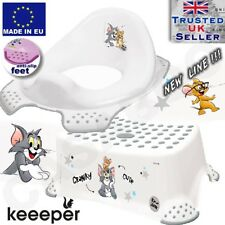 Happy Friends Hippo Toddler Toilet Training Seat & Step Stool Combo White