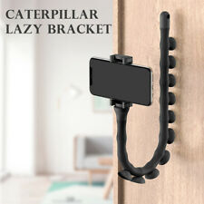Lazy Bracket Mobile Phone Holder Stand Worm Flexible Suction Cup New