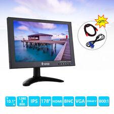 "10 "" IPS FHD 1280 * 800 VGA AV HDMI LCD Monitor para CCTV DVD PC FPV Seguridad"