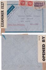 France 1942 A.M from Vichey from Terreaby/Rhone. Sent ViA Bermuda to NY