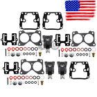3pack Carburetor Rebuild Kit For Johnson Evinrude V6 150 155 175 185 200 235 Hp