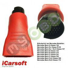 Original iCarsoft 38 pin OBD-I adaptador para Mercedes Benz modelos hace año 2000