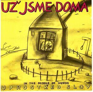 UZ JSME DOMA Uprostred Slov (In the Middle of Words) +Live 2CD Experimental/Prog