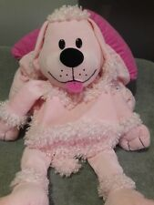 Happy Nappers Pink Poodle