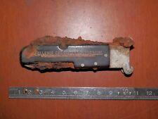 antico coltellino da tasca GALLERIA CALZATURE VINCENZINI ROMA arrugginito blocco