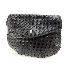 Bally Clutch bag Black Woman Authentic Used D1271
