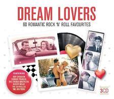 DREAM LOVERS 60 CLASSIC FIFITES HITS Four Seasons,Brenda Lee 3 CD NEW!