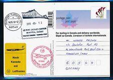 78933) LH FF Montreal Canada - Frankfurt 13.5.2010, postal stationary card