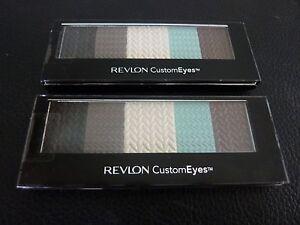 Revlon Custom Eyes Shadow & Liner - BEACH BEAUTY  #022 - TWO - Both New / Sealed