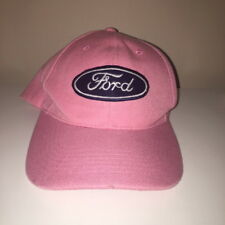 Ford Automobiles Pink Strapback Hat Adjustable Cap One Size Fits All