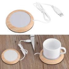 5W 80°C USB Cup Warmer Mat Coffee Tea Milk Drink Heater Pad Office Home