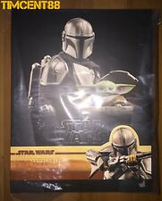 Ready! Hot Toys TMS015 THE MANDALORIAN AND THE CHILD (DELUXE VERSION) 1/6 New