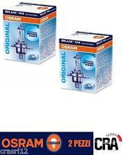 Coppia Lampade OSRAM H4 12V 55W 4200K Luce Bianca Cool Blue Intense