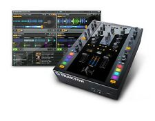 Native Instruments Traktor Kontrol Z2 DJ Mixer & 2 Free Timecode Vinyl +Software