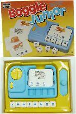 Boggle Junior Game By Parker Vintage - Children's Educational Spelling