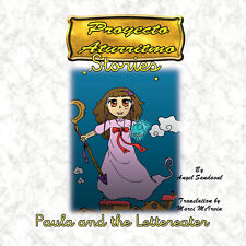 Paula and The Lettereater Children's story that is part of the Aturritmo Project