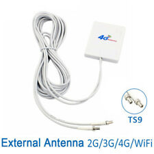 Connector 3G 4G LTE Antenna Signal Booster 28dBi Gain External WiFi Antenna