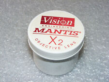 VISION ENGINEERING MANTIS ORIGINAL MICROSCOPE 2X OBJECTIVE LENS * NEW