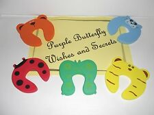 Door Stoppers, Child Safety Finger Guards - Set of 5 Foam Pieces