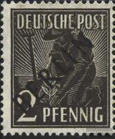 Berlin (West) 1 postfrisch 1948 Schwarzaufdruck